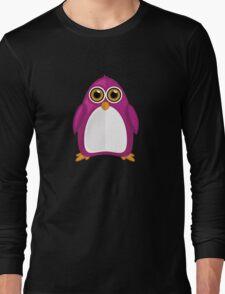 Violet Penguin 2 Long Sleeve T-Shirt