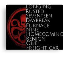 Hydra - Winter Soldier trigger words Canvas Print