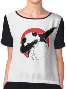 Panda Dab Dance Style Chiffon Top