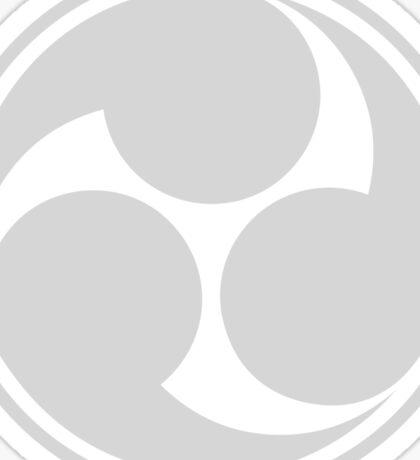 Mitsu Tomoe - Japan - Shinto Trinity Symbol - Triskele Sticker