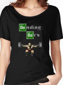 Bending Bars Walter White Gym Motivation Women's Relaxed Fit T-Shirt