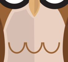 The Wise Owl Sticker