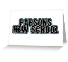 Parsons, New School  Greeting Card