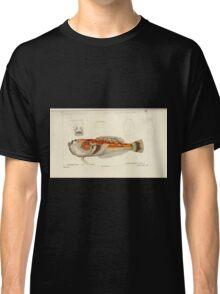 Natural History Fish Histoire naturelle des poissons Georges V1 V2 Cuvier 1849 190 Classic T-Shirt