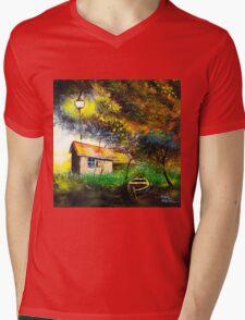 Boat House Mens V-Neck T-Shirt