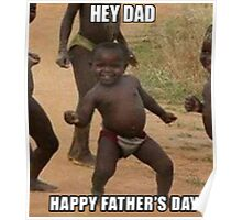 happy father's day Poster