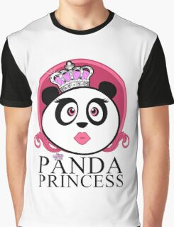 Panda Princess Graphic T-Shirt