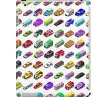 Cars Game Icons Isometric Vehicles iPad Case/Skin