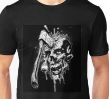 Axe Eye Zombie Unisex T-Shirt