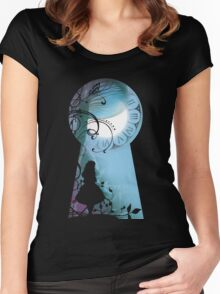 Alice - Through the Keyhole Women's Fitted Scoop T-Shirt