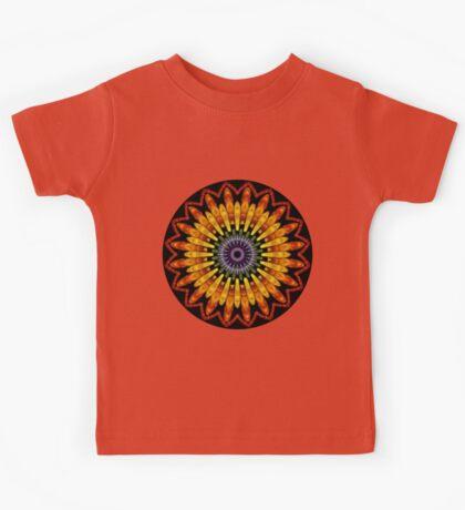 Chakra in Bloom Mandala Kids Tee