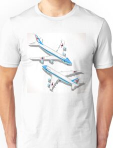 Boeing Aircraft Isometric Airplane Unisex T-Shirt