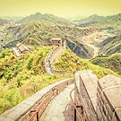 Great Wall of China by gianliguori