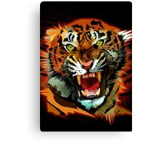 Tiger Roar Canvas Print