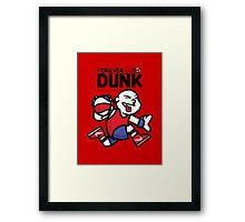 Forever Dunk Framed Print