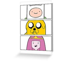 Adventure uh time? Greeting Card