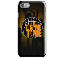 It's Game Time - Yellow iPhone Case/Skin