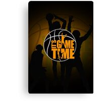 It's Game Time - Yellow Canvas Print
