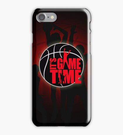 It's Game Time - Red iPhone Case/Skin