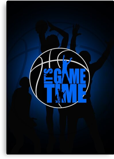 It's Game Time - Blue by Adamzworld
