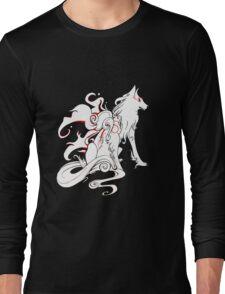 Okami - Amaterasu, goddess of sun and light Long Sleeve T-Shirt