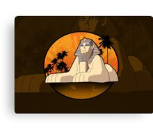 Sphinx Canvas Print