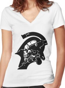 Ludens Women's Fitted V-Neck T-Shirt