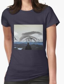 Watching your sunrise Womens Fitted T-Shirt