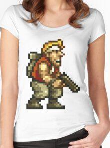 Marco Rossi Pixel Women's Fitted Scoop T-Shirt