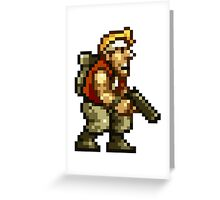 Marco Rossi Pixel Greeting Card
