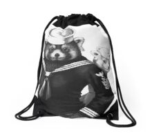 Pikkupanda of Finland Drawstring Bag