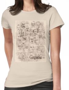 Grimm - Wesen Womens Fitted T-Shirt