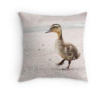 little duckling Throw Pillow