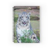 If I sit behind this branch I bet you can't see me! Spiral Notebook