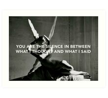 Psyche Revived by Cupid's Kiss x Welch Art Print