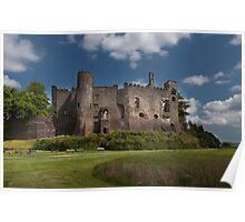 Laugharne Castle Poster