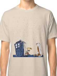 Calvin & Hobbes : Time Travel Classic T-Shirt