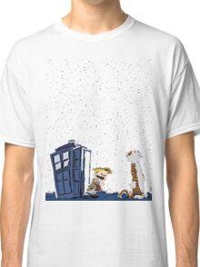 Calvin & Hobbes : Time Travel Classic T-Shirt