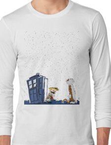 Calvin & Hobbes : Time Travel Long Sleeve T-Shirt