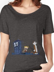 Calvin & Hobbes : Time Travel Women's Relaxed Fit T-Shirt
