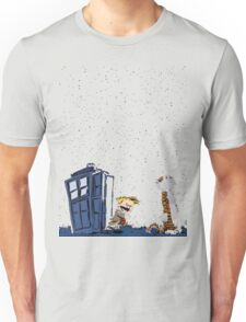 Calvin & Hobbes : Time Travel Unisex T-Shirt