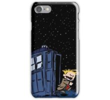 Calvin & Hobbes : Time Travel iPhone Case/Skin