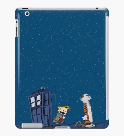 Calvin & Hobbes : Time Travel iPad Case/Skin