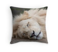 wake up sleepy head! Throw Pillow