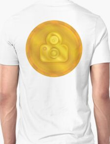 Photography Camera Gold Coin Unisex T-Shirt
