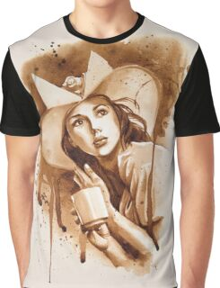 Cafe Belle Graphic T-Shirt