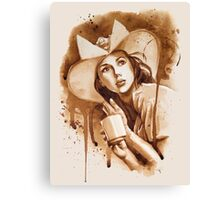 Cafe Belle Canvas Print