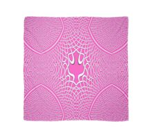 A fractal of a pink Celtic knotwork trail Scarf