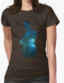 Matt Space Womens Fitted T-Shirt
