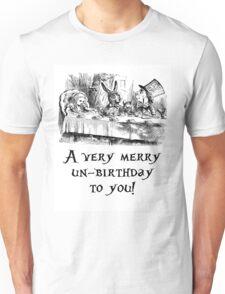 A very merry un-birthday! Unisex T-Shirt